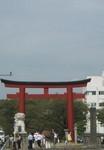 鶴岡八幡宮二の鳥居