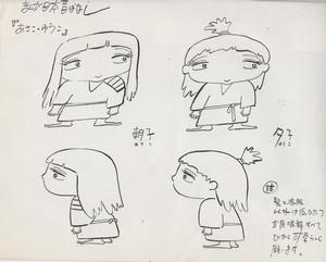 「あさこ・ゆうこ」キャラクターモデル