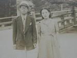 戦中父母新婚旅行