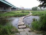 阿木川河川敷