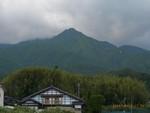 松川片桐地区から見た烏帽子岳
