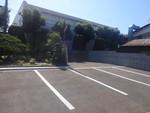 駐車場の全景写真