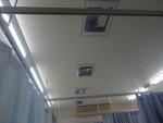 天井の絵は額に入りました