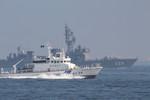 護衛艦「あぶくま」・巡視艇「ゆうづき