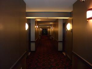 プラネットハリウッド内の廊下