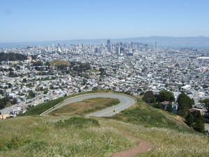 ツウィンピークスからサンフランシスコ