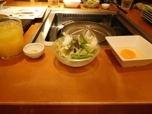 ジンギスカンの前菜
