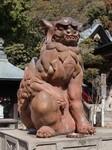 由加神社本宮の狛犬
