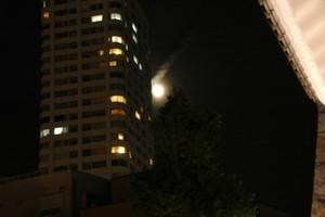 満月とあそぶ