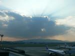 夕方の伊丹空港