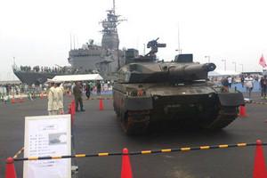 訓練支援艦てんりゅうと10式戦車
