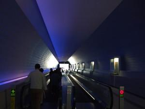九州国立博物館への連絡通路