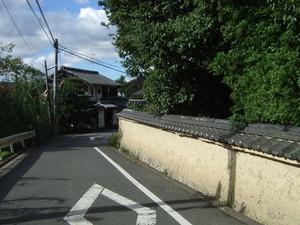 京都・法界寺付近にて