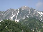 小遠見からの五龍岳