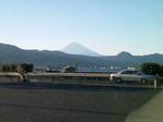 富士山を見つめて。