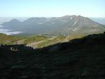 トムラウシ山からの十勝連峰