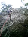 岩トレ風景