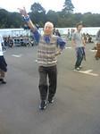 ハウスミュージックで踊るハッスルおじ