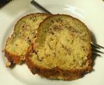 桜霞のパウンドケーキ。桜花と抹茶がポ
