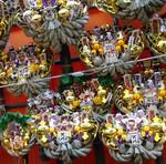 巣鴨・大鳥神社の酉の市。熊手だよ