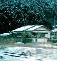 積雪の模様