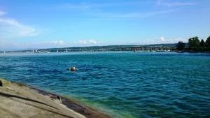 夏本番のボーデン湖