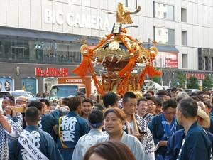 山王祭の御神輿