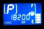18,200km (スバル・プレオ+)