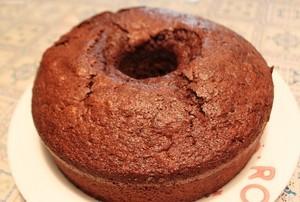 [お菓子]チョコレートシフォンケーキ