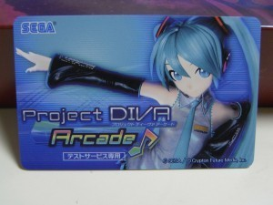 Project DIVA Arcade IC カード