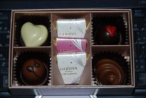 GODIVA (St.Valentine)