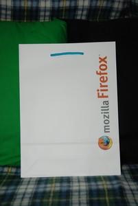 mozilla Firefox (紙袋 : OSC2008)