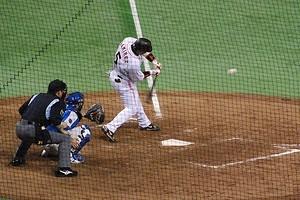 ラミレス選手(日本シリーズ2008)