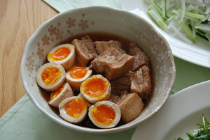豚の角煮と煮卵