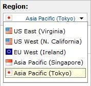 Amazon Web Services Tokyo Region