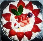 叔母の作ったクリスマスケーキ