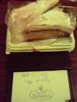紺野さんを祝うケーキ。
