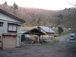 野尻湖でのキャンプ場入口
