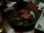 松ちゃん特製煮込みハンバーグ