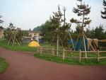種市のキャンプ場