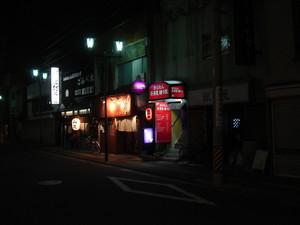 長野・権堂の夜景