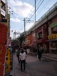 上野の街角にて