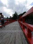 赤城神社へ渡る橋