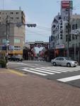 川崎大師 駅前にて