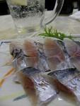 アジ酢の物¥300