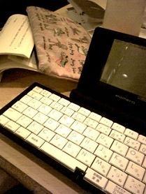 キングジムのデジタルメモ専用機「ポメ