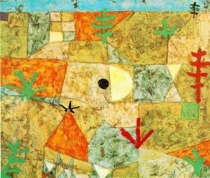 Klee 「南の庭」