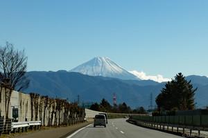 2016年見納めの富士山