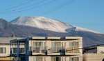 真冬の「浅間山」。(27.12.28)