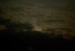「中秋の名月」の残月を観ようと…。